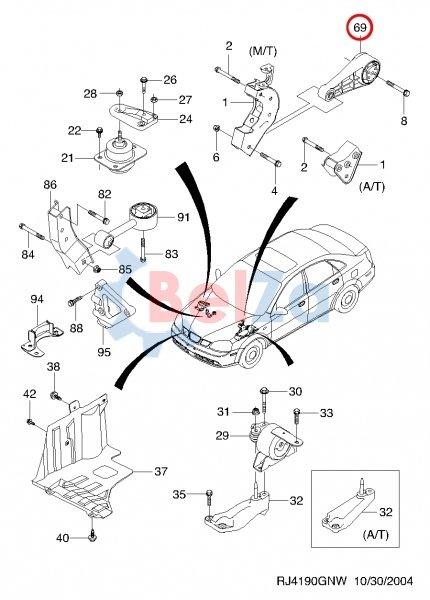 схема коробки передач лачетти