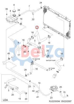 Доработка системы охлаждения шевроле лачетти хэтчбек