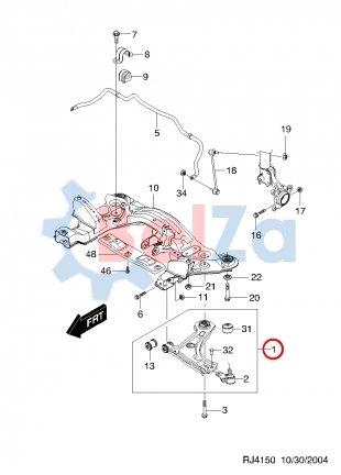 Схема передней подвески шевроле лачетти универсал 53