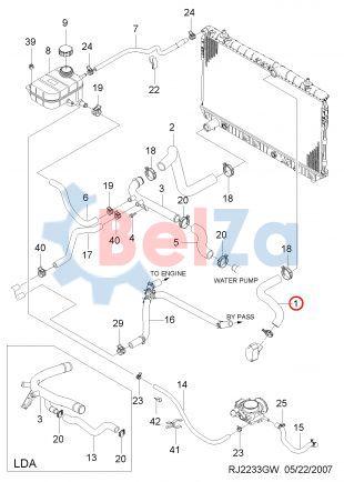 Система охлаждения двигателя на шевроле лачетти